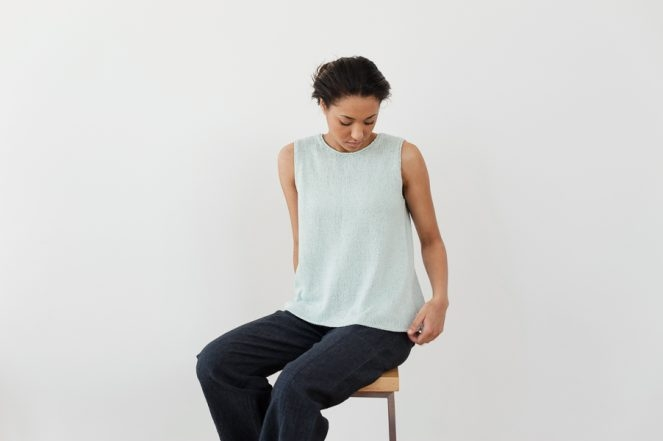 Julie Hoover for Purl Soho: Sayer   Purl Soho