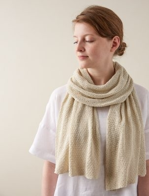 Rose Stitch Wrap | Purl Soho