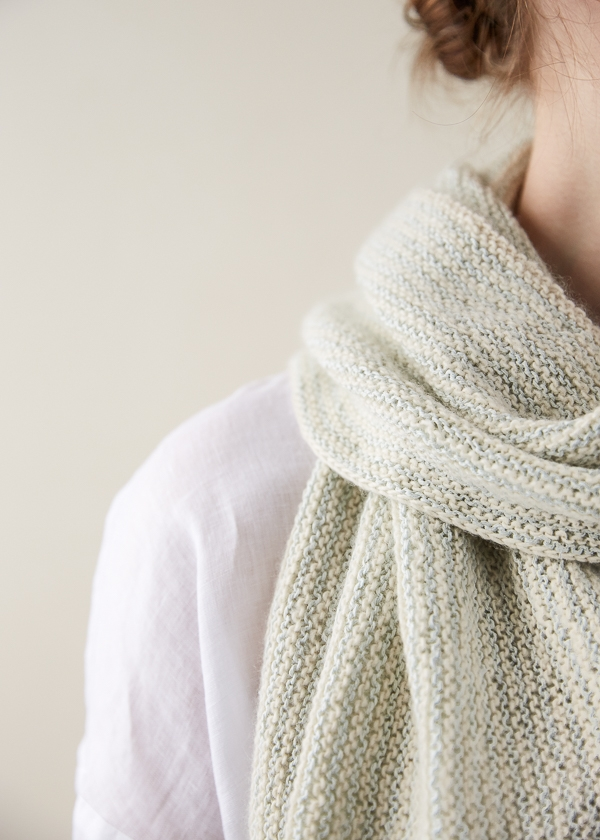 Striped Garter Scarf | Purl Soho