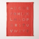 Alphabet Sampler in New Colors