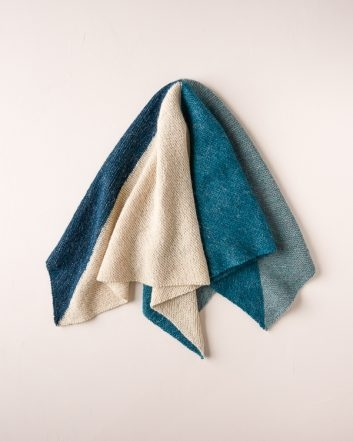 Knit Four Points Baby Blanket in New Colors | Purl Soho