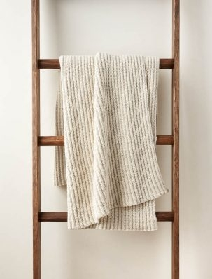 No-Purl Ribbed Blanket | Purl Soho