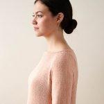 Lightweight Raglan Pullover in Cattail Silk