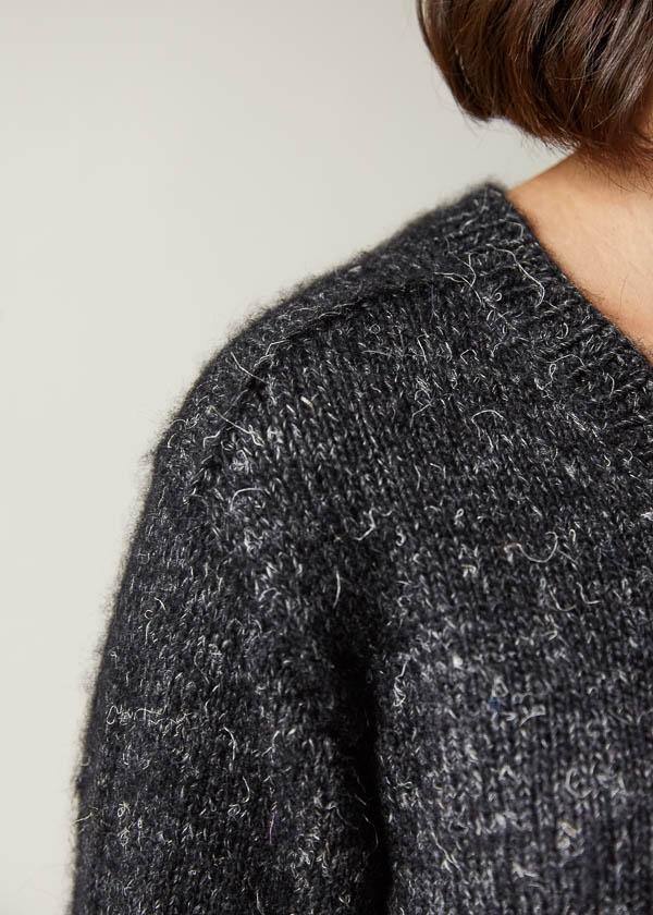Shoulder Forward Pullover   Purl Soho
