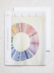 Color-Wheel Quilt Pattern + Templates