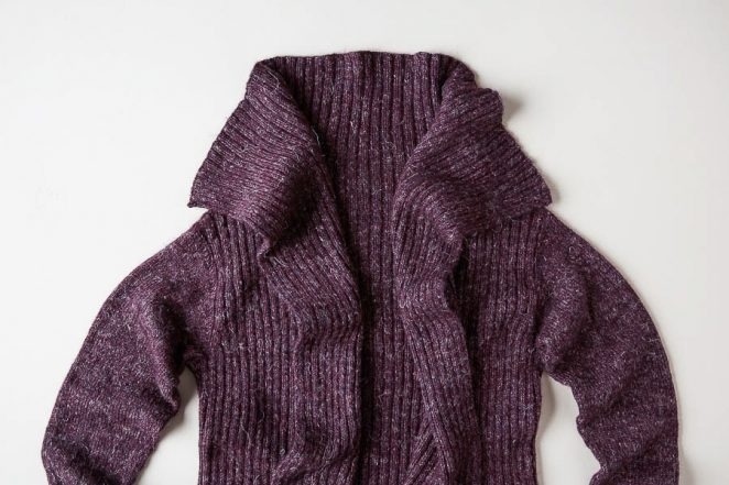 Ridgeline Wrap Cardigan | Purl Soho