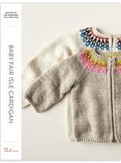 Baby Fair Isle Cardigan Pattern Download