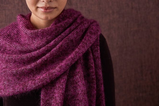 Elementary Wrap In Tussock | Purl Soho