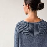 Faceted Yoke Pullover