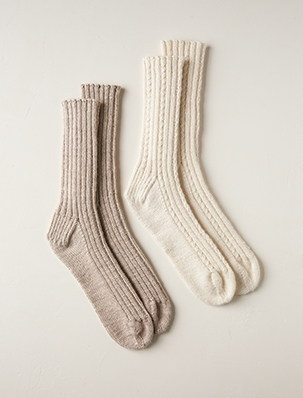 Toe-Up Socks | Purl Soho