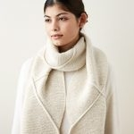 Delicate Cable Scarf