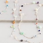 Floating Gemstones Necklace