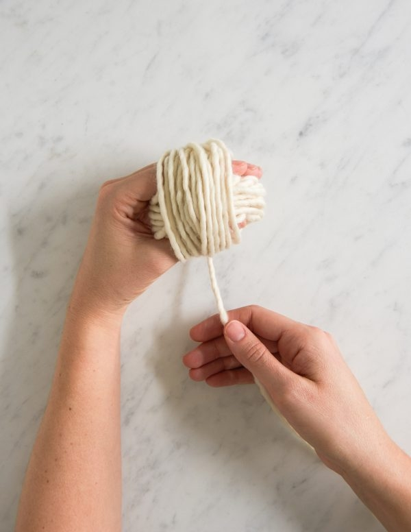 Winding a Skein into a Ball | Purl Soho