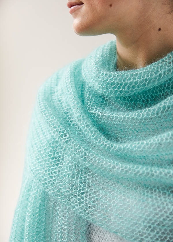 Open Air Wrap In Tussock | Purl Soho