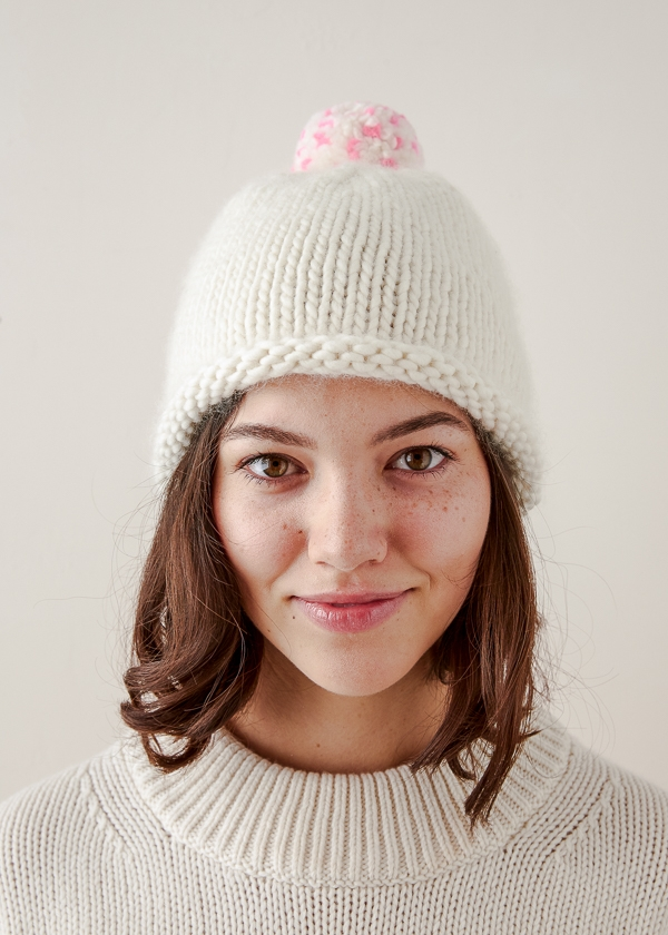 a2ee76bc54b Speckled Pom Pom Hat