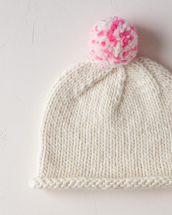 Speckled Pom Pom Hat | Purl Soho