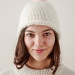Speckled Pom Pom Hat