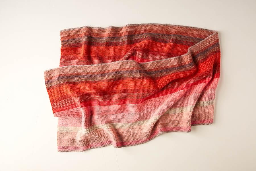 Colorflow Garter Wrap | Purl Soho