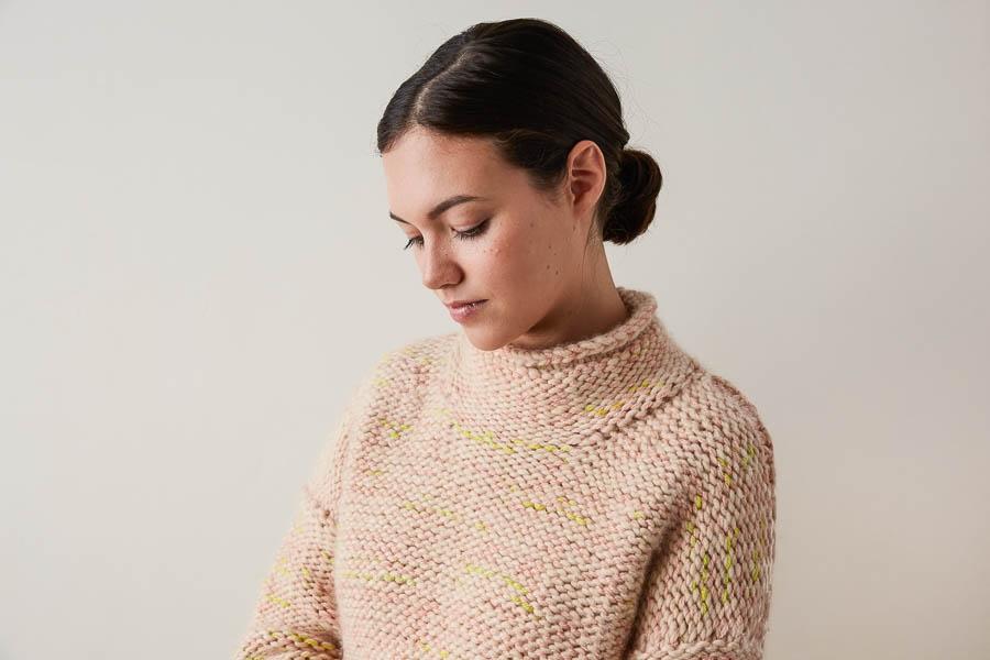 Kaleidoscope Sweater | Purl Soho