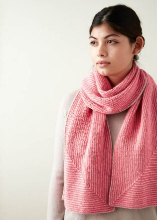 Little Mitered Stripes Scarf | Purl Soho