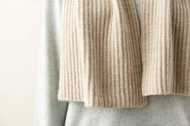 No-Purl Ribbed Wrap | Purl Soho