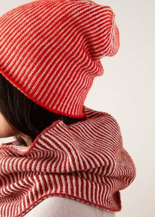 Corrugated Hat + Cowl | Purl Soho