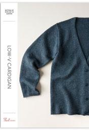 Low-V Cardigan Pattern Download