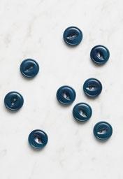 Fish-Eye Corozo Button, 1/2 Inch