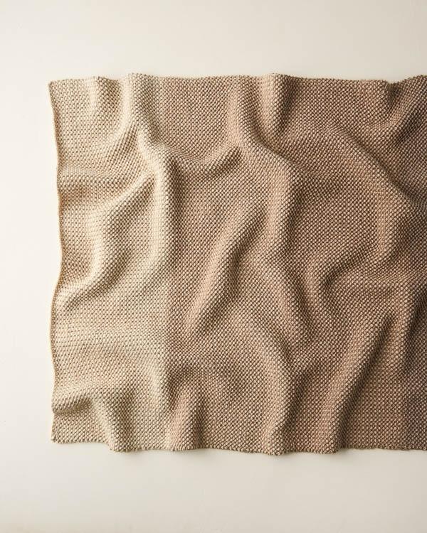 Sand Drift Blanket | Purl Soho