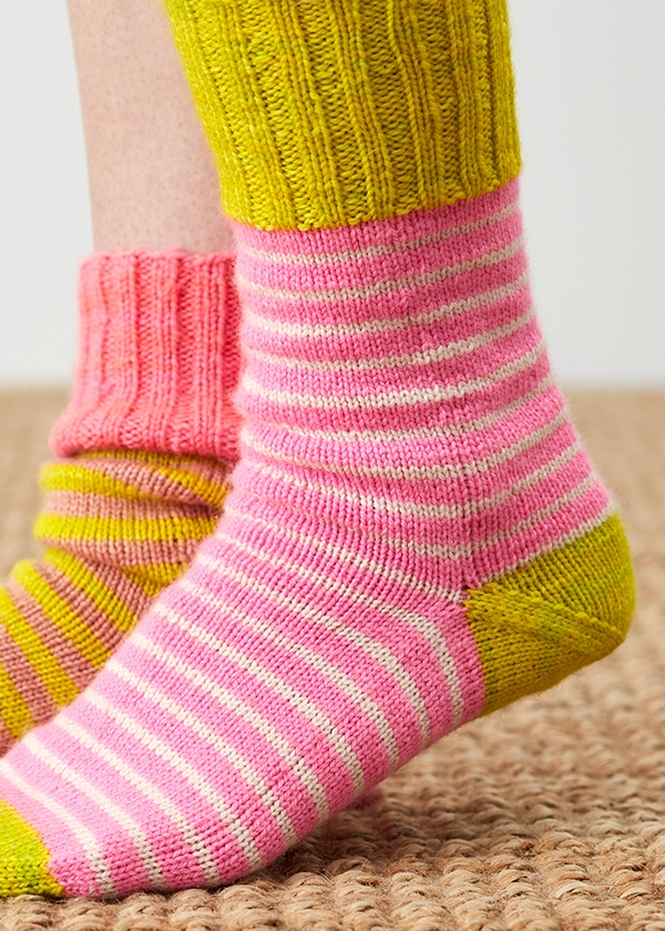 Stripey Socks For Cri Du Chat Awareness | Purl Soho