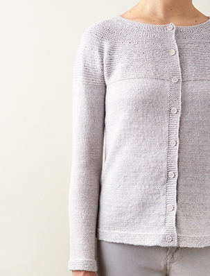 Simple Yoke Cardigan | Purl Soho