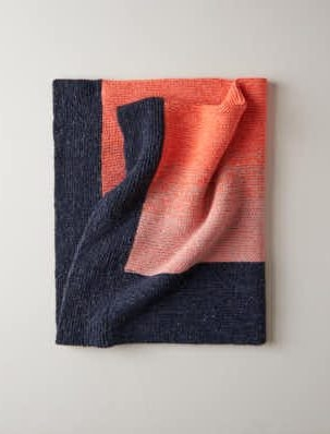 Color Wash Blanket | Purl Soho