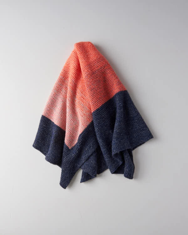 Color Wash Blanket | Purl Soho