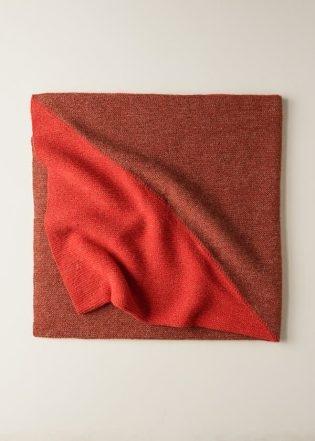 Half + Half Triangles Wrap | Purl Soho