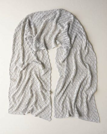 Little Moons Lace Wrap | Purl Soho