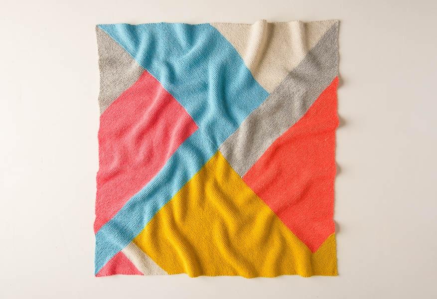 Easy Puzzle Blanket | Purl Soho