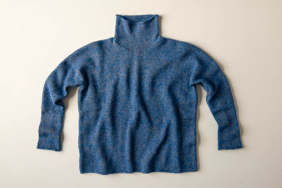 Up-And-Over Turtleneck   Purl Soho