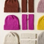 Simple Hand Warmers + Hat In All Colors