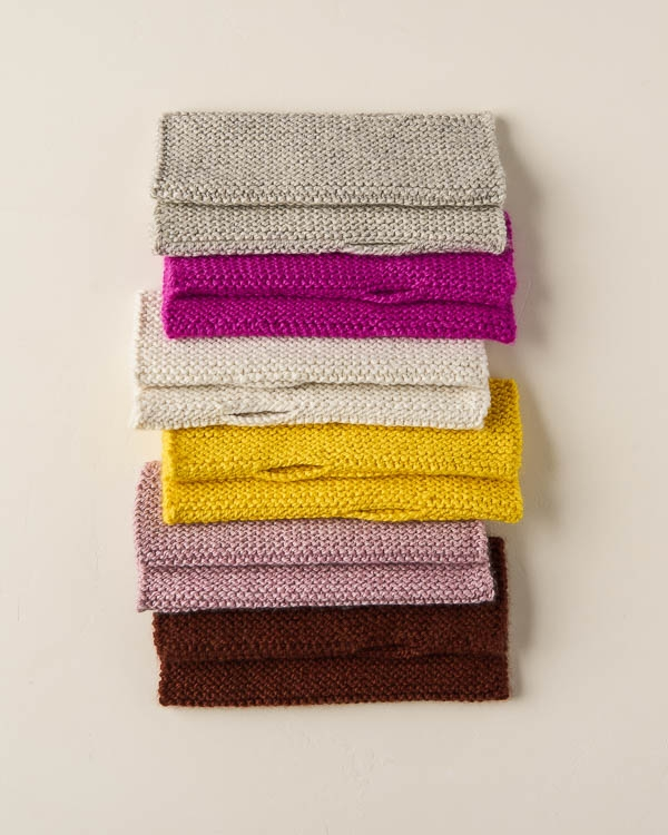 Simple Hand Warmers + Hat In All Colors | Purl Soho