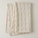 Embossed Triangles Blanket