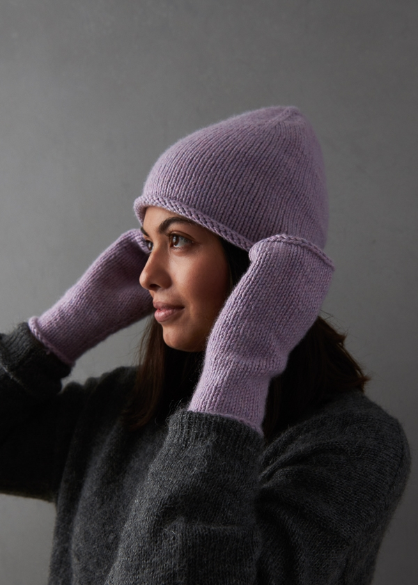 Essential Hat, Mitten + Hand Warmer Set | Purl Soho