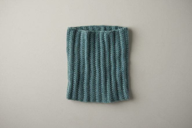 Mistake Rib Cowl In Cashmere Tend | Purl Soho