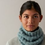Mistake Rib Cowl In Cashmere Tend