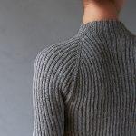 Ribbed Raglan Pullover