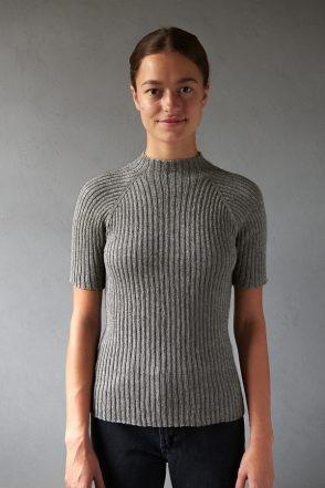 Ribbed Raglan Pullover | Purl Soho