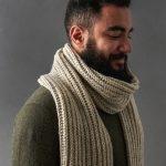 Seafaring Scarf In Big Good Wool