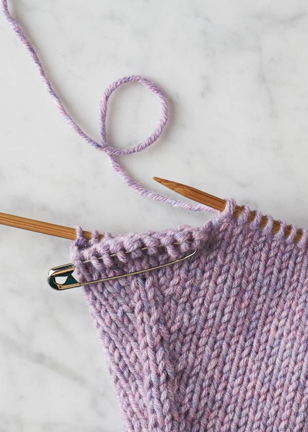 Make 1 Backwards Loop | Purl Soho