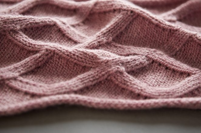 No-Cable Cable Scarf | Purl Soho
