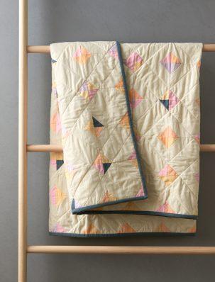 Tiny Tile Quilt In Spectrum Cotton | Purl Soho