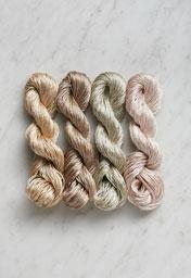 Mineral Silk Mini Skein Bundle